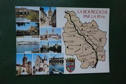 R3 ) LA BOURGOGNE PAR LA RN 6 - Bourgogne