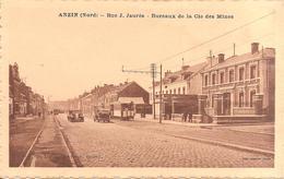ANZIN (59) Rue Jean Jaurès - Bureaux De La Cie Des Mines - Anzin