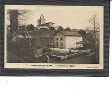 87-ORADOUR-sur-GLANE-Une Vue Animée Du * Moulin à Eau Et De L'Eglise - Oradour Sur Glane