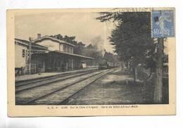 33 - Sur La Côte D' Argent - Gare De SOULAC-sur-MER - Soulac-sur-Mer