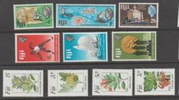 FIJI   1967+69+84  **   MNH  YVERT  212/14 +259/61+502/05  SERIES  COMPLETAS  3 - Fidji (1970-...)