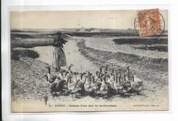 44 - QUIMIAC - Gardeuse D' Oies Dans Les Marais-salants. Beau Plan - France