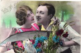 Vive SAINT ELOI - Couple Amoureux    (1865 ASO) - Firstnames