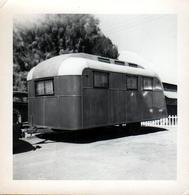Photo Carrée Originale B.B. USA - La Caravane Américaine Tractée 1950/60 - Automobili