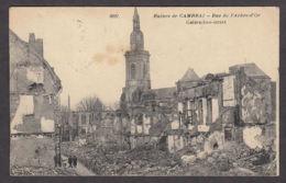 101638/ CAMBRAI, Ruines, Rue De L'Arbre-d'Or - Cambrai