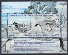 T.A.A.F. 2012. N° Y&T F638 **, MNH, Fraîcheur Postale. Cote Y&T 2020 :  8 € - Blokken & Velletjes