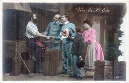 Vive La SAINT ELOI - Couple Et Forgeron     (1866 ASO) - Firstnames