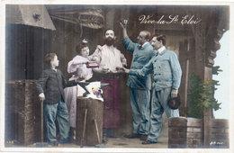 Vive La SAINT ELOI - Couple Et Forgeron     (1867 ASO) - Firstnames