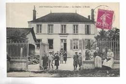10 - ROUVRES-les-VIGNES  ( Aube ) - La Mairie - L' Ecole - Belle Animation - Altri Comuni