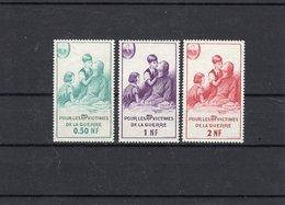 France,Timbres De Bienfaisance Des PTT, Neufs,  Sans Charnière, Avec Gomme. N° 78,79,80. Cote 25€ - Commemorative Labels
