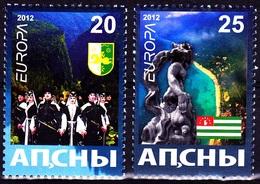 Europa - 2012 - Abkhazia, Abaza - (Georgia) - Local Issue ** MNH - Europa-CEPT