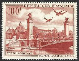 France 1949 - PA  28 -  Grand Palais  Et Pont Allexandre III - NEUF** - 1927-1959 Nuevos