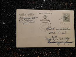 Entier Postal Belge Westende    (i8) - Postwaardestukken