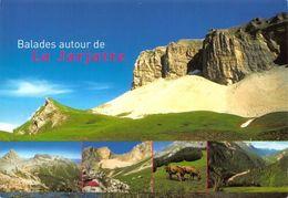 France La Jarjatte Col De La Croix Et Grand Ferrand Lac De Lauzon Postcard - Francia