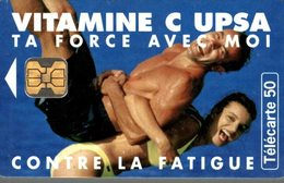 TELECARTE 50 UNITES  VITAMINE C UPSA - France