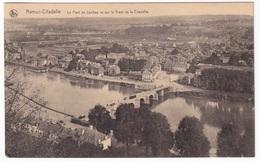 NAMUR-CITADELLE - Le Pont De Jambes Vu Sur Le Tram De La Citadelle - Namur