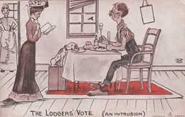 The Lodgers Vote (An Intrusion) , 1906 - Humor