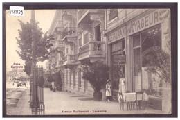 LAUSANNE - RESTAURANT DES VOYAGEURS - AVENUE RUCHONNET - TB - VD Vaud