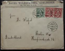 Schweiz 1899, Bedarfsbrief ADELBODEN, MiF - Covers & Documents