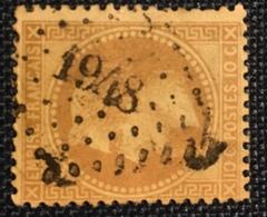 Timbre De France Classique N°28A PC Du GC 1948 Mées - Marcophilie (Timbres Détachés)