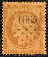 Timbre De France Classique N°36 PC 1664 Launoy-sur-Vence - 1849-1876: Période Classique