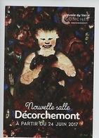 Décorchemont - Vitrail Bacchus 1933 -  Musée Du Verre De Conches - Conches-en-Ouche
