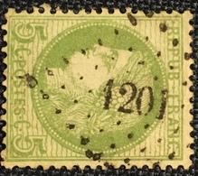 Timbre De France Classique N°53 PC Du GC 1201 Essai - Marcofilie (losse Zegels)