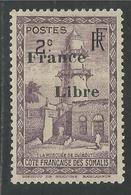 COTE FRANCAISE DES SOMALIS 1942 YT 204* - Côte Française Des Somalis (1894-1967)