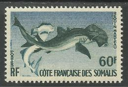 COTE FRANCAISE DES SOMALIS 1959 YT 302** - SANS CHARNIERE NI TRACE - Französich-Somaliküste (1894-1967)