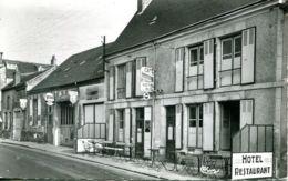 N°536 T -cpsm St Laurent Des Eaux -hôtel Du Midi- - France