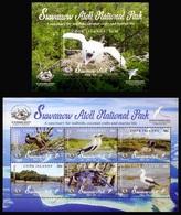 2019 Cook Islands, National Park, Birds, S/sheet + Sheet, MNH - Birds