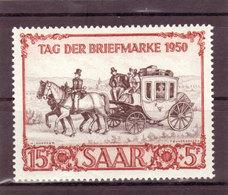 Saarland, Nr. 291** ( T 13002) - Ongebruikt