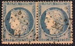 Timbre De France Classique N°60 PC Du GC 264 Barraux - Marcofilie (losse Zegels)