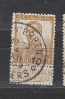 COB 113 Oblitération Centrale ANTWERPEN 10G - 1912 Pellens