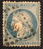 Timbre De France Classique N°60 PC Du GC 1539 Ingrande - 1849-1876: Période Classique