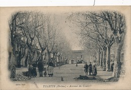 J2 - 26 - TULETTE - Drôme - Avenue Du Cours - France