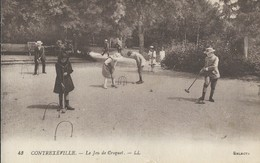 Contrexeville     Jeu De Croquet - Vittel Contrexeville