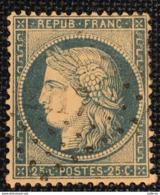 Timbre De France Classique N°60 PC Du GC 2417 Pessac - Marcofilie (losse Zegels)
