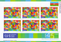 Azerbaijan Stamps 2019. 145ᵗʰ ANNIVERSARY OF THE UNIVERSAL POSTAL UNION UPU - UPU (Universal Postal Union)