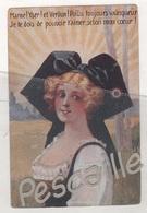 ALSACE 1918 - CP MARNE ! YSER ! ET VERDUN ! POILU TOUJOURS VAINQUEUR JE TE DOIS DE POUVOIR T'AIMER SELON MON COEUR ! - Weltkrieg 1914-18