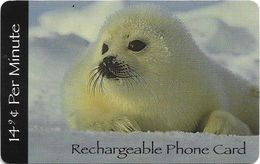 USA - NMTI - Polar White Seal, GSM Refill. 14¢ Per Min, Used - Otros