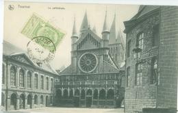 Tournai 1905; La Cathédrale - Voyagé. (Nels - Bruxelles) - Tournai
