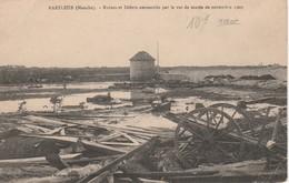 Ruines Et Débris Amoncelés Par Le Raz De Marée De Novembre 1909 - Barfleur
