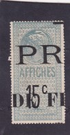 T.F D'Affiches N°30 - Revenue Stamps