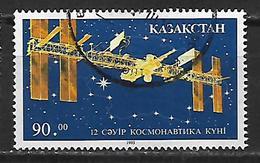 Kazakhstan  1993 Cosmonautics Day Used - Kazakhstan