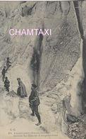 74 ARGENTIERE RANDONNEURS AUX SERACS DU GLACIER VALLEE DE CHAMONIX MONT BLANC  LC 85 - Alpinisme