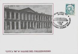 Lucca 29-9-1996 - MOSTRA FILATELICA A TEMA FERROVIARIO - - Esposizioni Filateliche