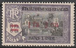 INDE FRANCAISE N° 195 Neuf Charnière Légère - Unused Stamps