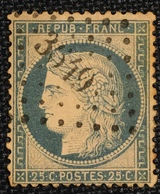 Timbre De France Classique N°60 PC 3649 Vinça - Marcophilie (Timbres Détachés)