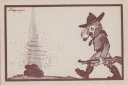 Illustrateurs - Vigneron - Congo Belge - Chasse - Fusil - N° 8 - Ilustradores & Fotógrafos